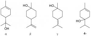 Terpineols